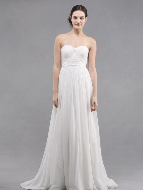 bac00c58b36 Jenny Yoo Monarch 1282B Size 6 Wedding Dress – OnceWed.com