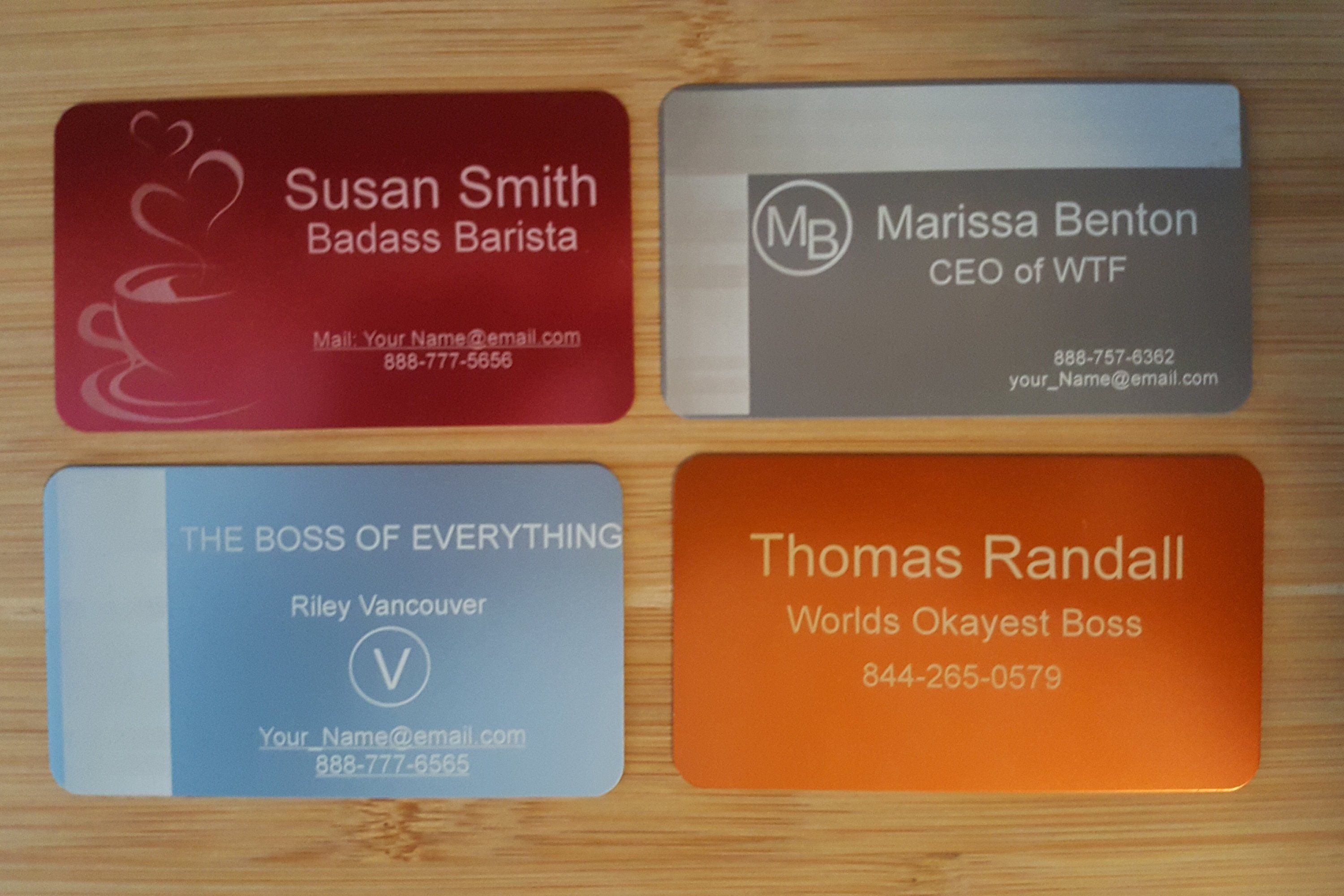 Engraved Wallet Card - Custom Wallet Insert - Personalized ...