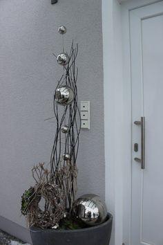 Wir durften ein sehr schönes edles Haus in der Nähe von München´mit unserer Deko noch attraktiver machen! #herbstdekoeingangsbereich