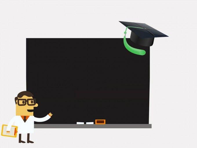 background powerpoint school
