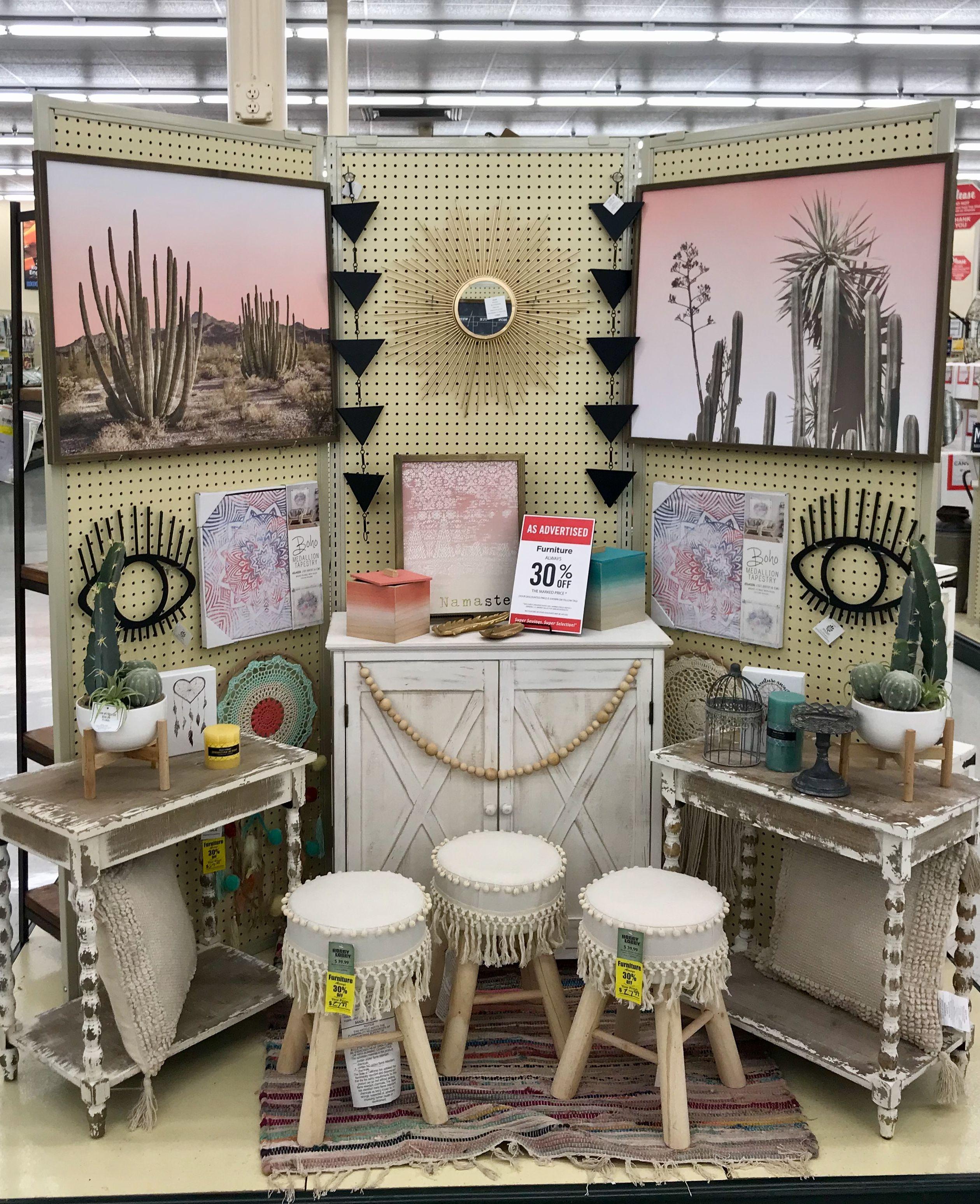Hobby Lobby Merchandising Displays