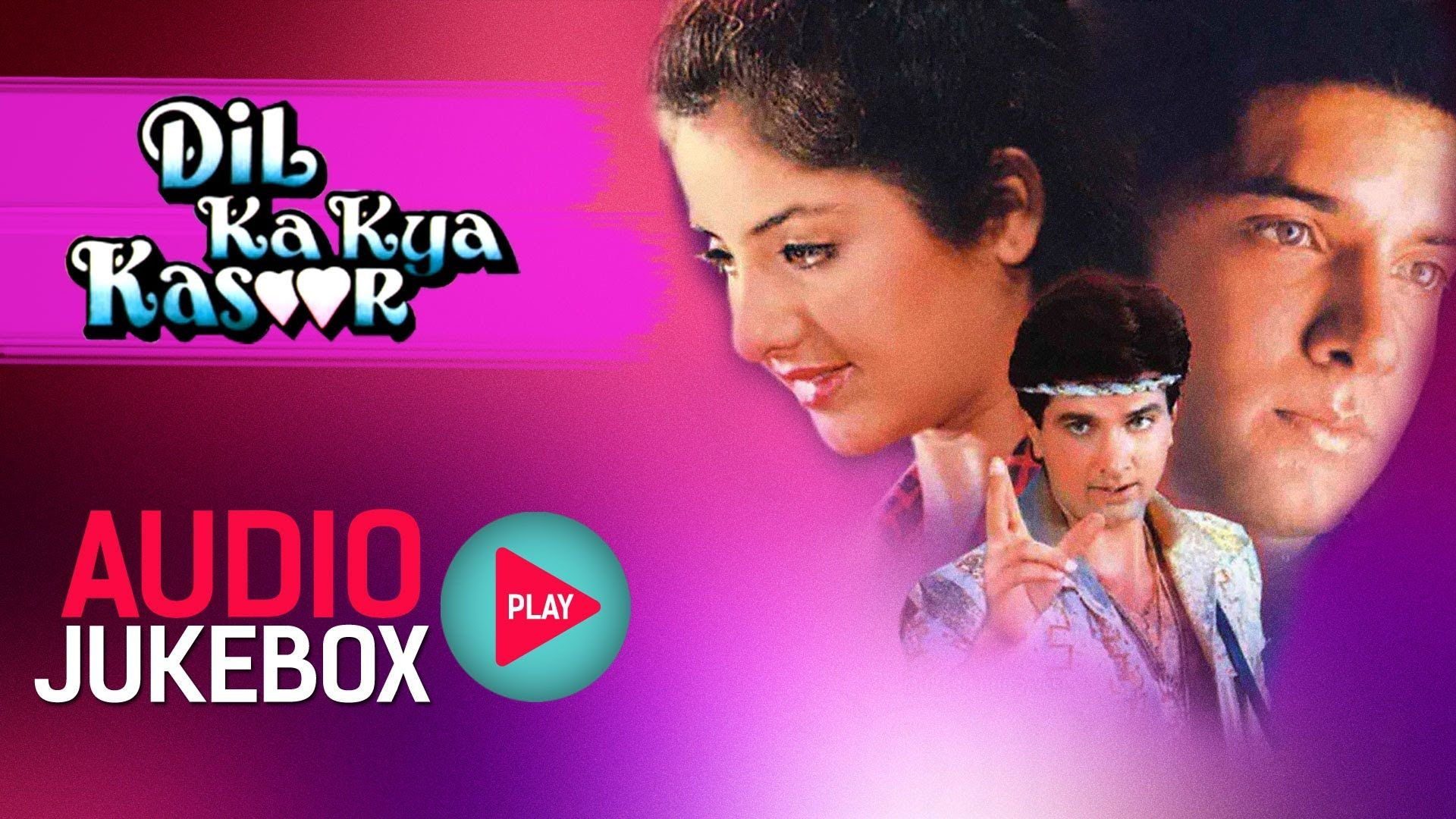 Dil Ka Kya Kasoor Full Songs Jukebox Divya Bharti Prithvi Nadeem S Songs Nadeem Shravan Jukebox