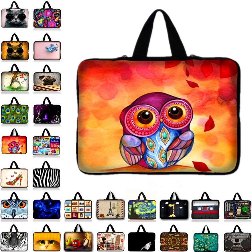 "10 Inch Soft Netbook Tablet Laptop Sleeve Bag Case For 9.7/"" Apple Ipad Air 2 5"