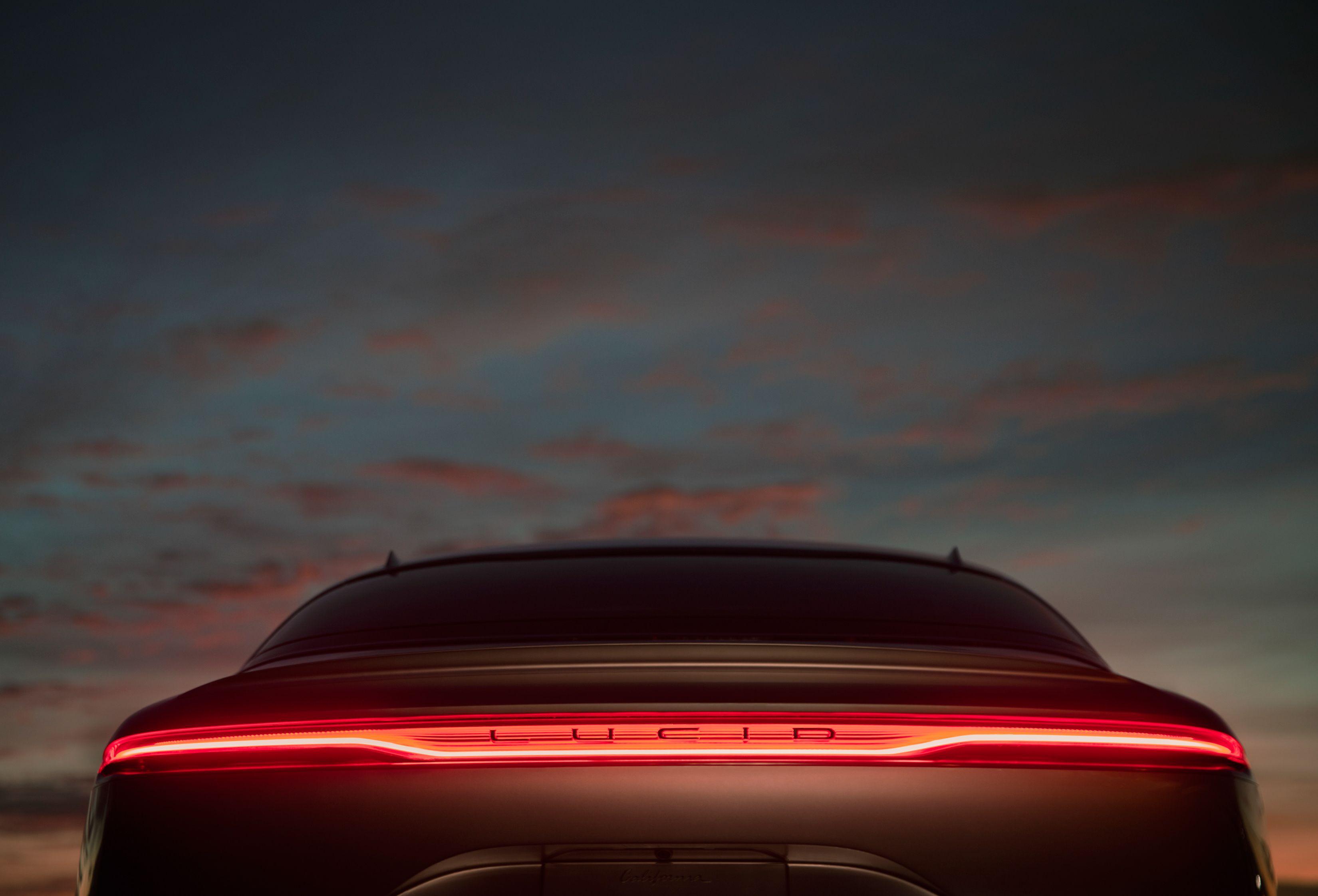 Lucid Air On Behance Lucid Concept Cars Car Lights