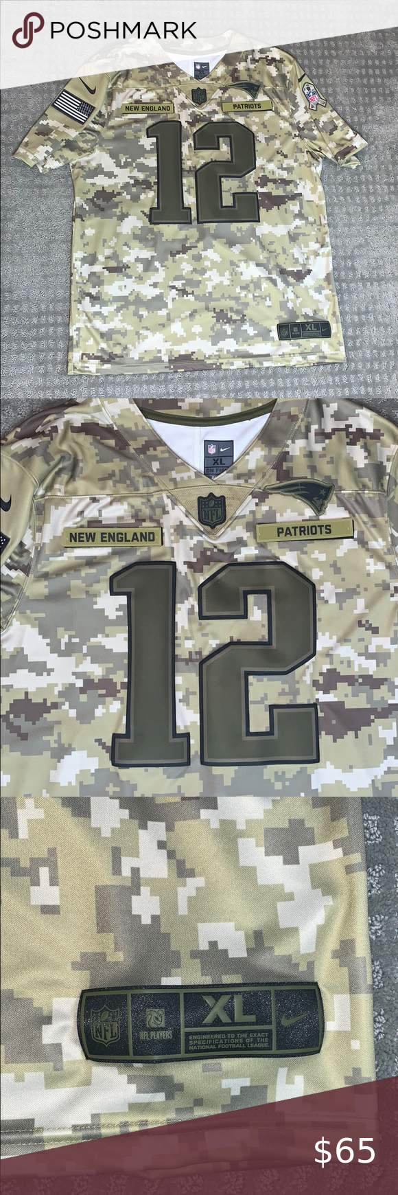 patriots military jersey
