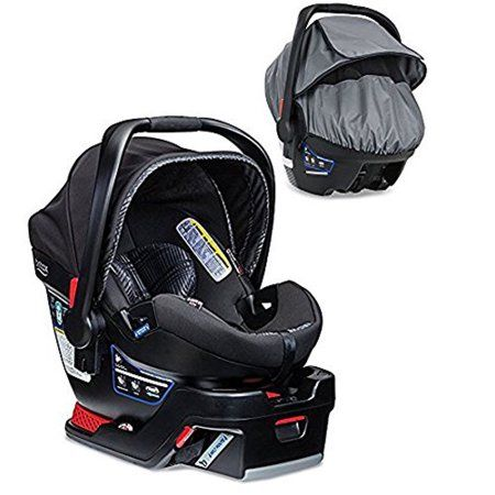 Britax B-Safe 35 Elite Infant Car Seat With All-Weather Car Seat ...