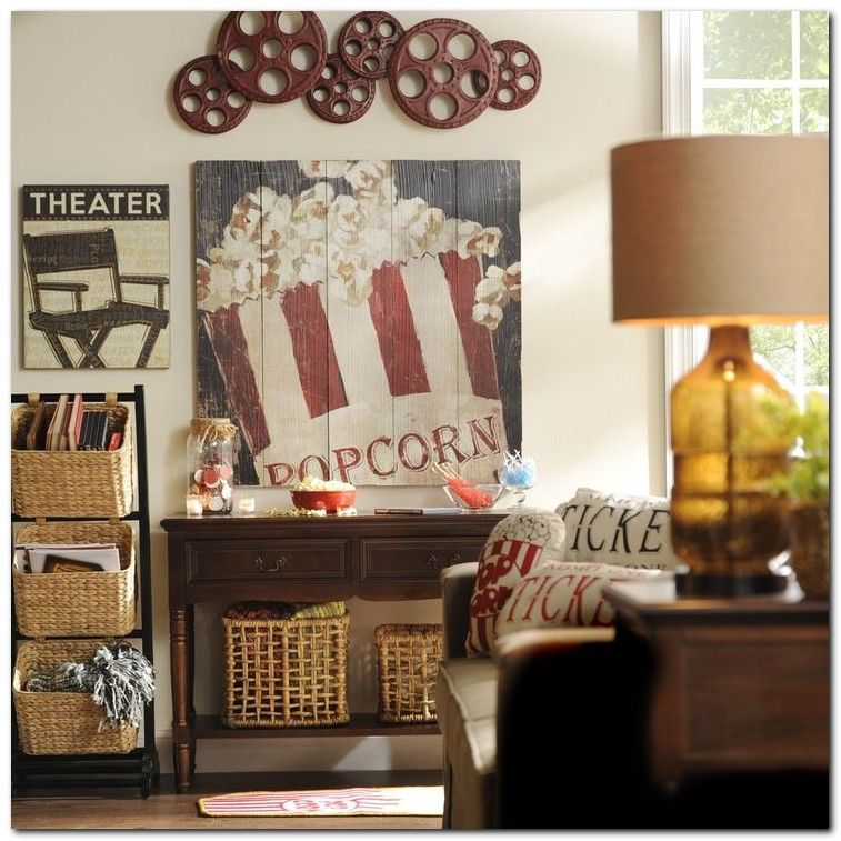 10 Best Home Theater Room Decorating Ideas: 50+ Tiny Movie Room Decor Ideas