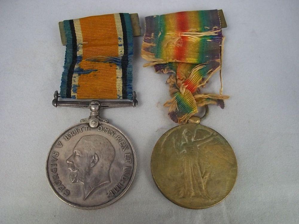 Royal Navt Pair, British War Medal & The Victory Medal
