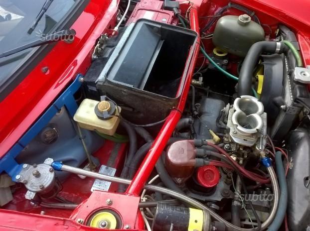 Autobianchi A112 Abarth – Engine