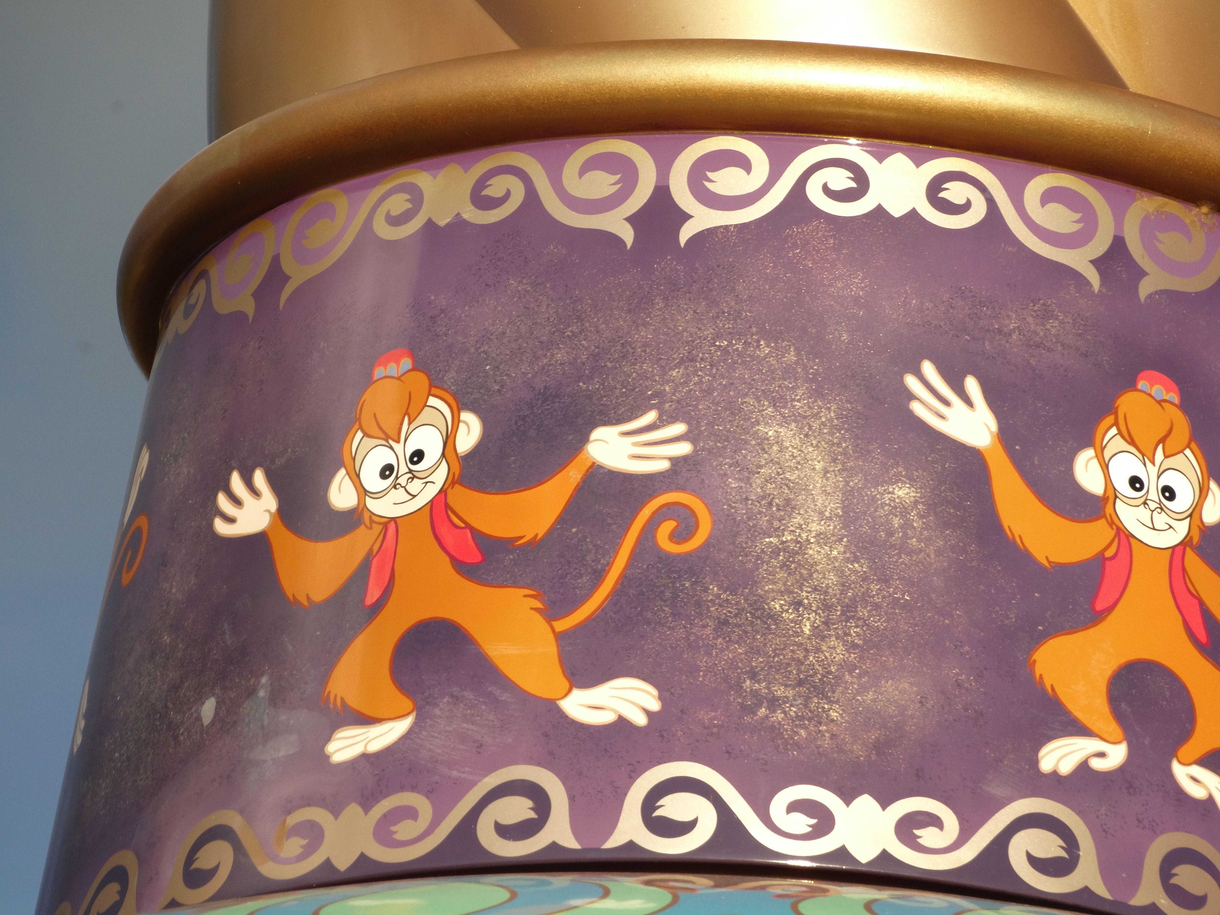 Detail Abu View Magic Carpet Disney World Walt Disney
