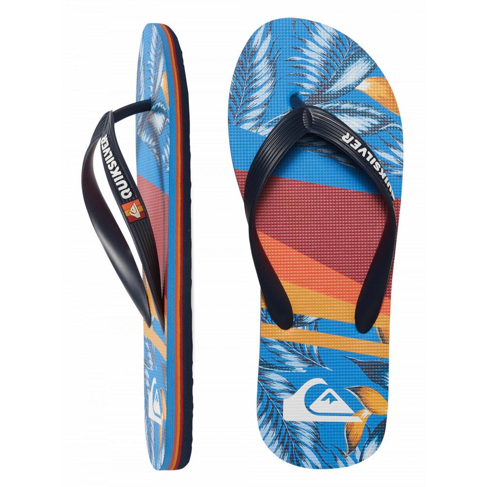 Boys 2-7 Molokai Slash Print Thongs AQBL100201 QUIKSILVER  5b5e09e2716