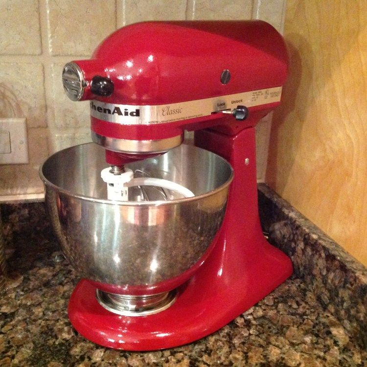 Step By Step Instructions On How To Repaint Your Kitchen Aid Stand