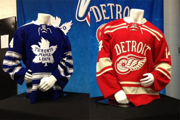 half off 0f1c2 ecf7d Toronto Maple Leafs and Detroit Red Wings 2014 Winter ...