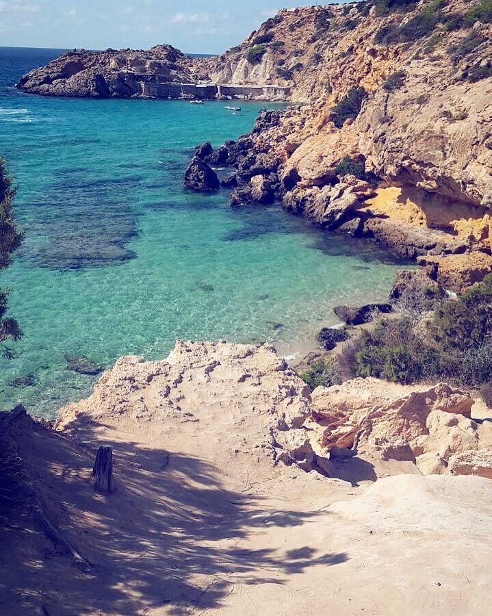 Cala Tarida Ibiza - a treasure for all w… | Magical island