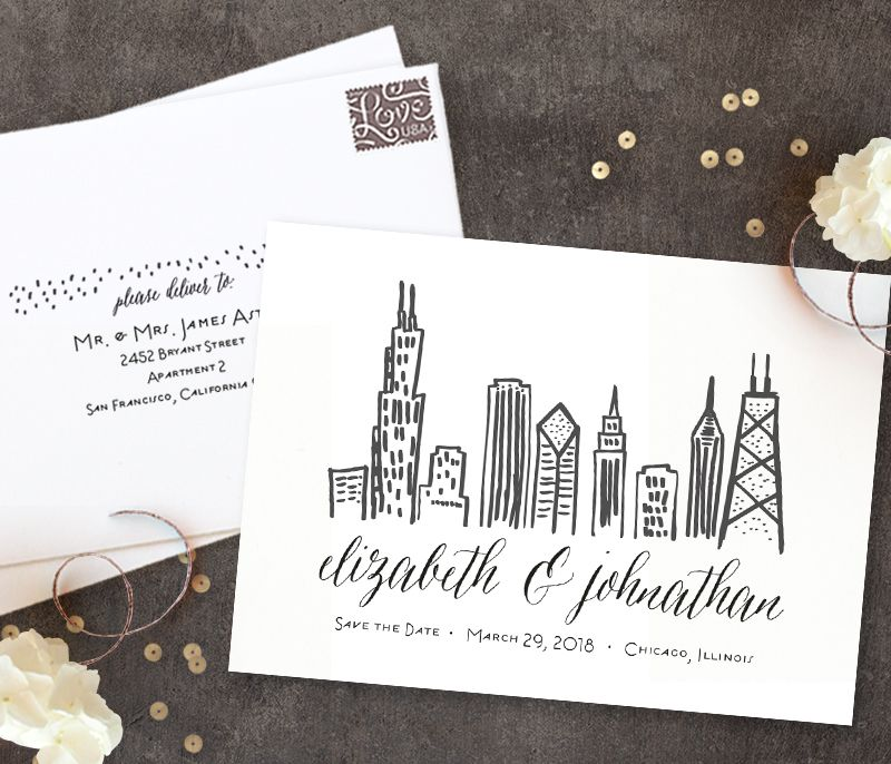 Wedding Invitation Giveaway: Save The Date Giveaway From Minted