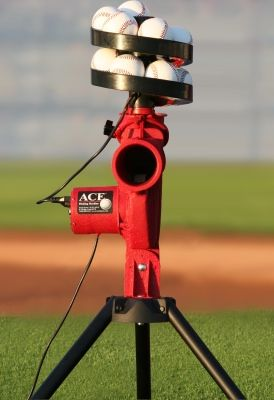 Image Of Trend Sports Slider Lite Ball Pitching Machine