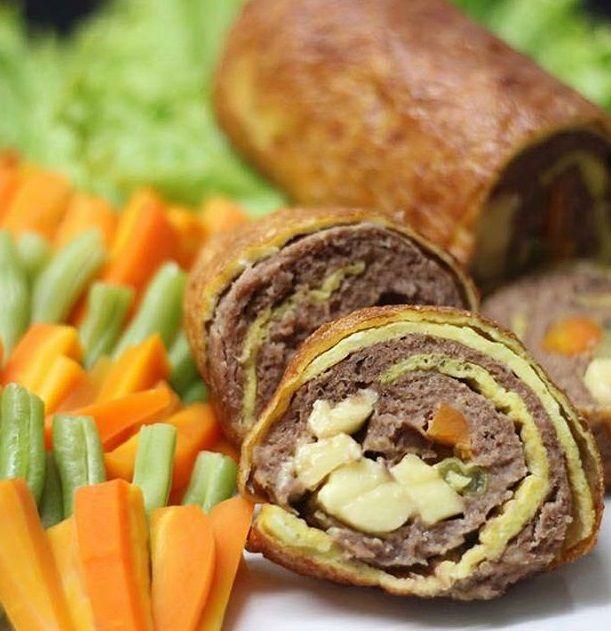 Resep Masakan Rolade Daging Isi Keju Resep Masakan Makanan Dan Minuman Masakan