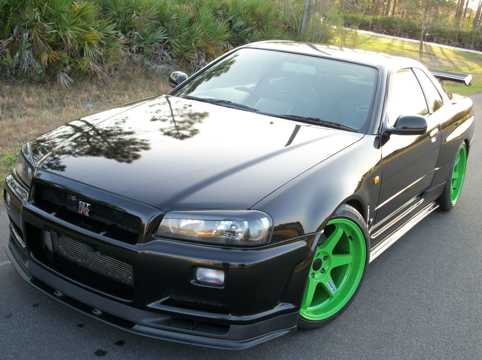 Japanese Used Modified Sports Cars Nissan Skyline R34 Engine 480hp Export  Sales Are Carried Out From