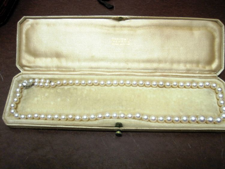 Huguette Clark's pearls from the jewelry collection as it