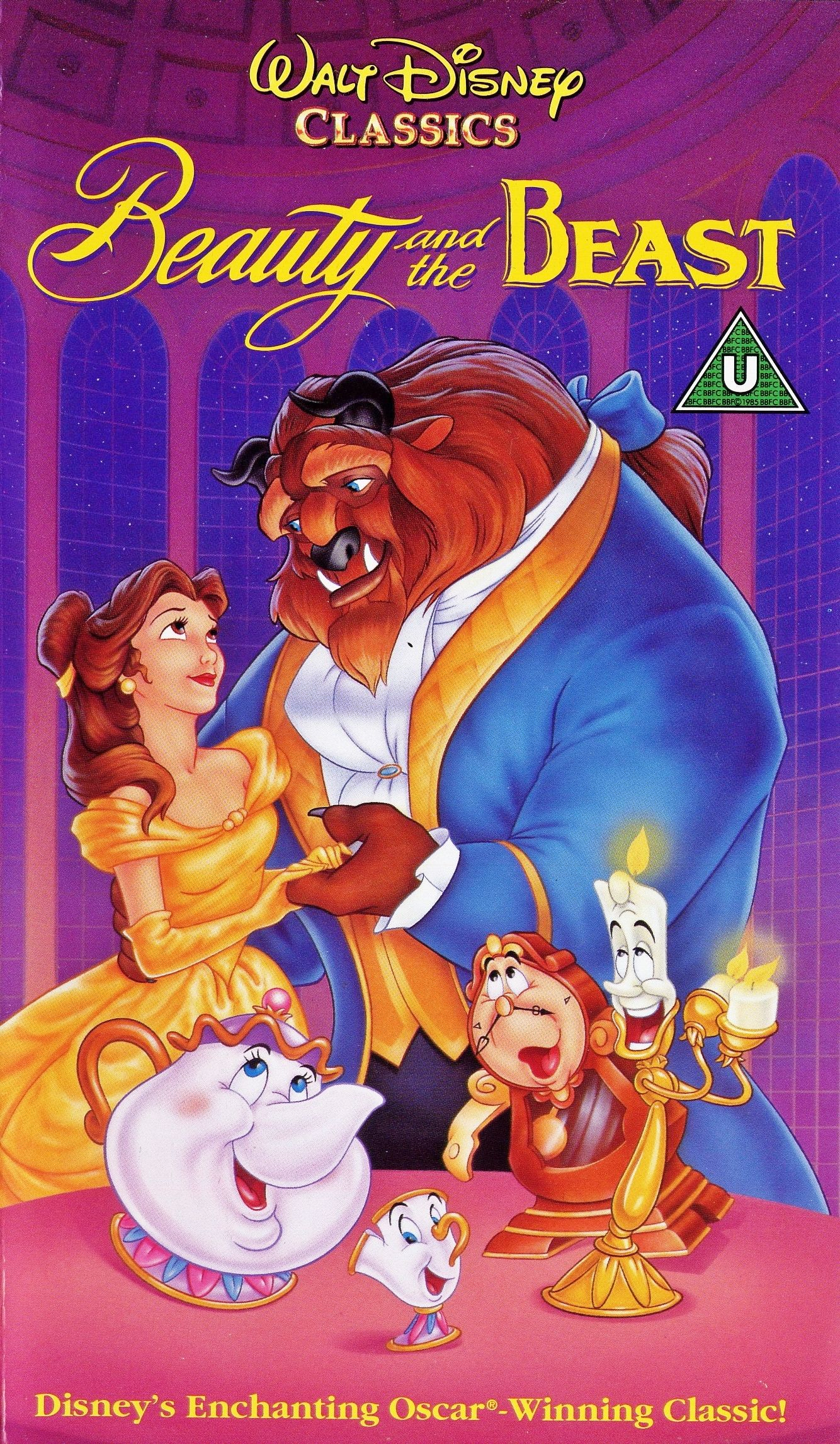 Beauty and the Beast (1991) Peliculas infantiles de