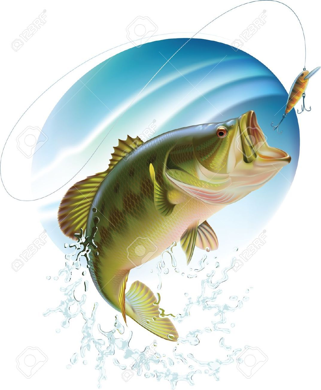 Awesome Largemouth Bass Fish Drawings Fish Pinterest Bass