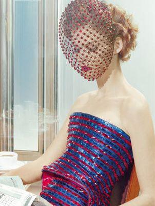 Carmen Kass by Miles Aldridge for Vogue Italia