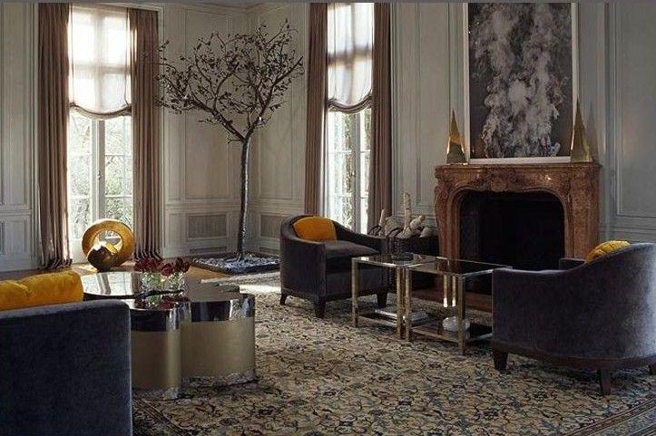 steven volpe design  masculine living rooms living room