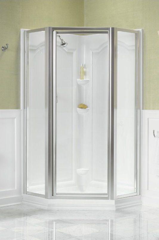 Kohler K 704516 L Neo Angle Shower Door 27 75 W X 72 H 622 Neo Angle Shower Enclosures Neo Angle Shower Doors Shower Enclosure