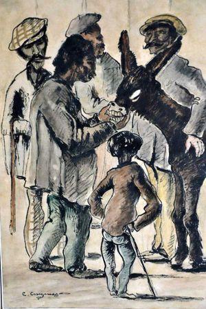 gitanos amb ase -1899