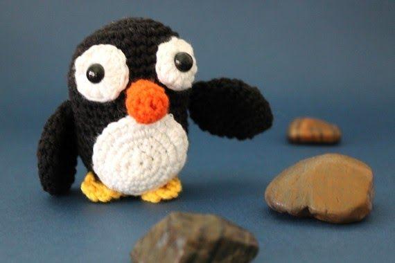 Patrón para tejer un pingüino amigurumi | mi materia pendiente ...
