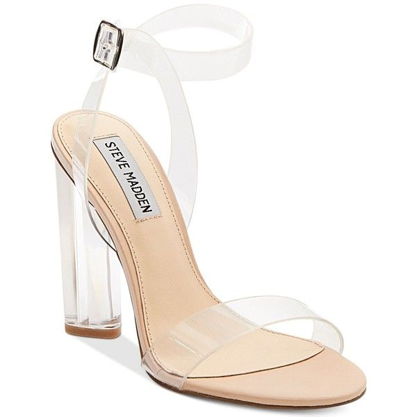 Sneakernews Womens Transparent Open Shoe Ankle Strap Sandals Bianco Best Store To Get Online RSmlE