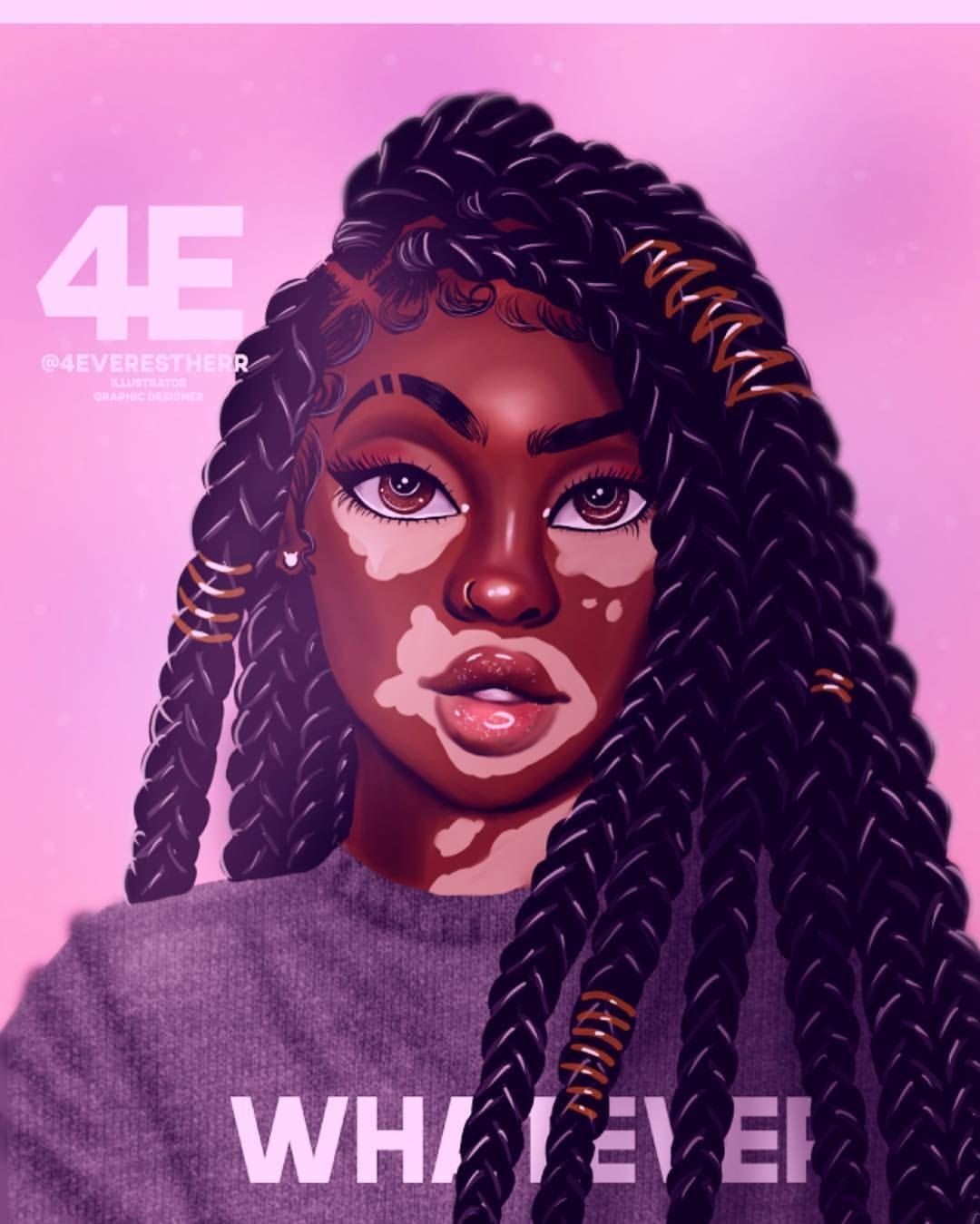 VitiligoQueen🌸 #art #artist #illustration #drawing