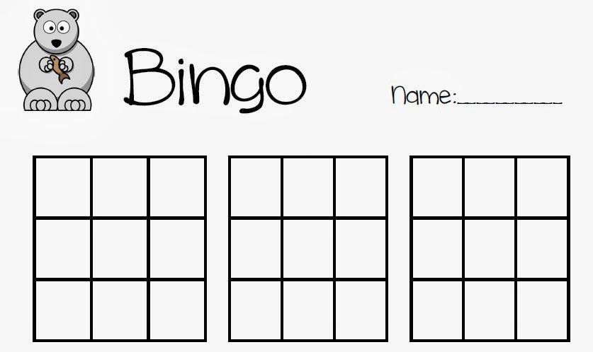 Vorlage für ein Bingospiel | Mathelandschaft Creations | Pinterest