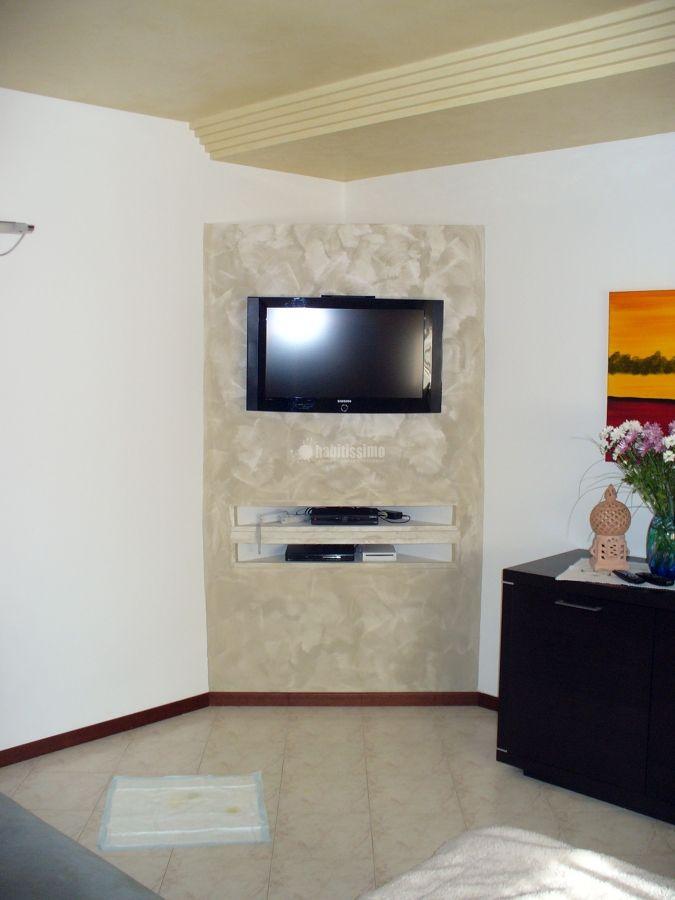 Creazione in cartongesso mobile porta tv nel 2019 | Mobili ...