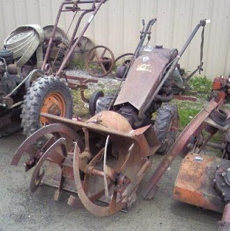 antique gravely-snow-blower | Antique Farm/Garden Equipment
