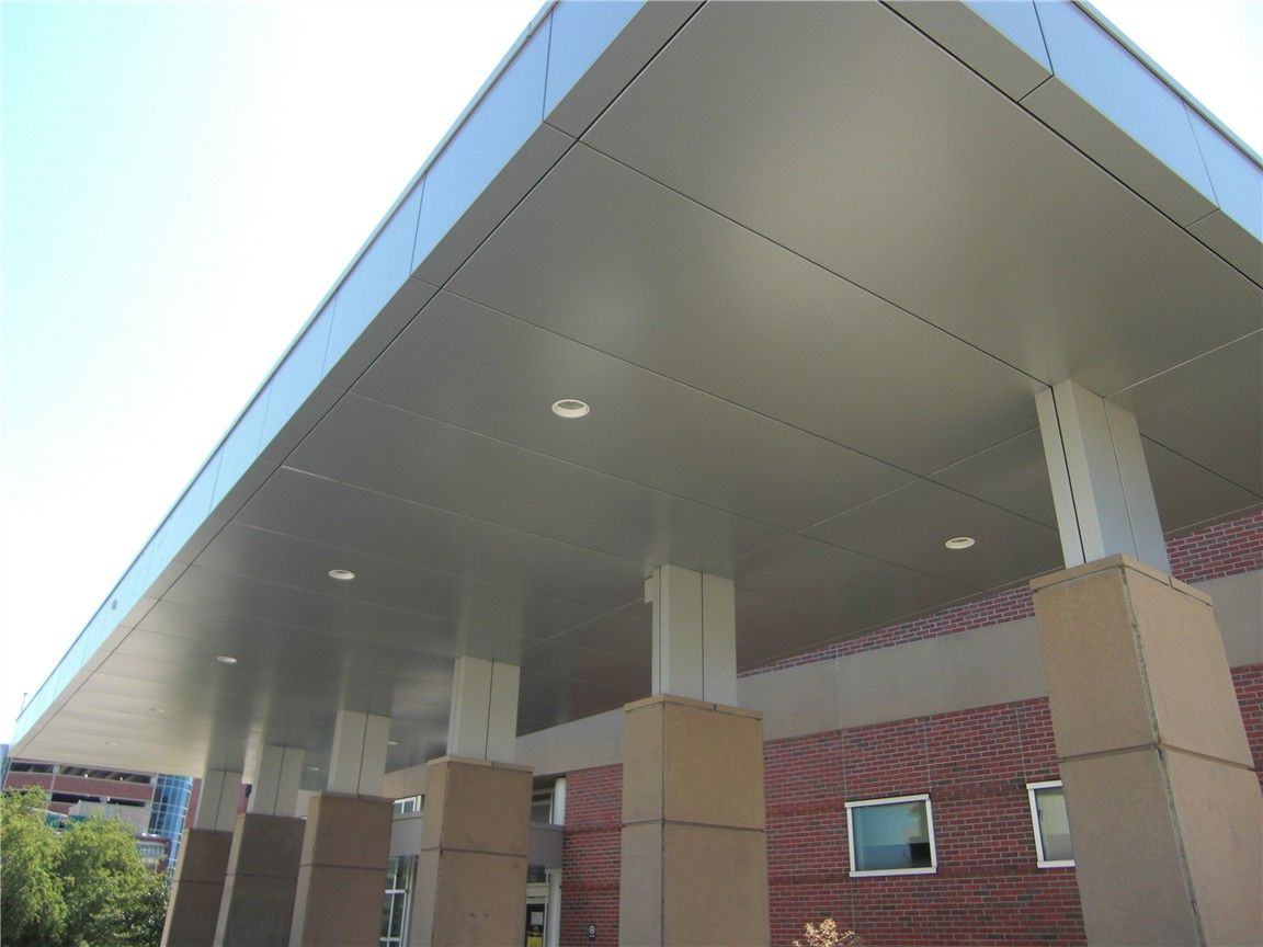 Alucobond Composite Metal Panel Details : Alucobond soffit google search huckabee metal soffits