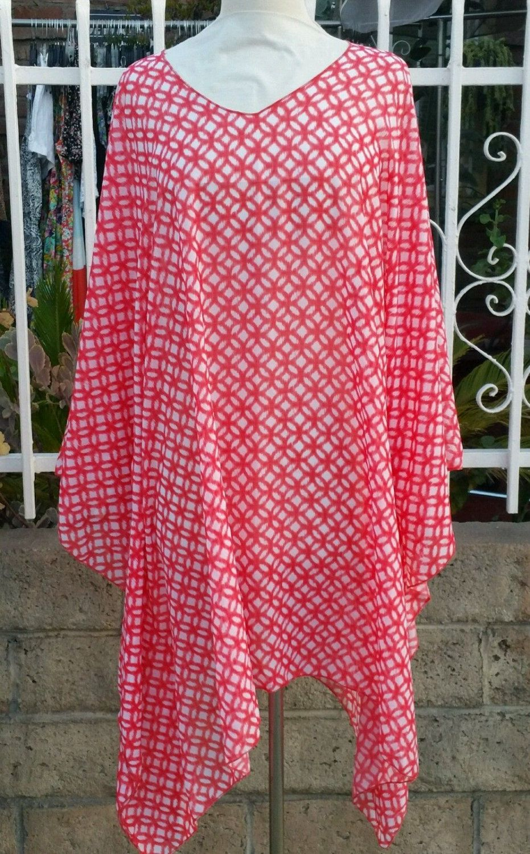 c2a57c1d1af Plus size poncho style top tunic mini dress