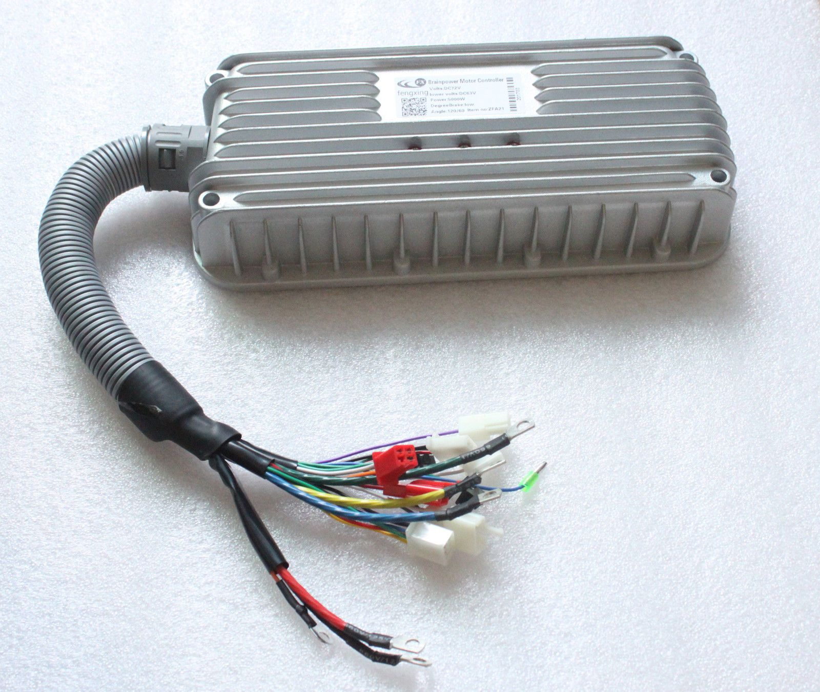 72v 5000w Electric Bicycle Brushless Motor Speed Controller For E Wiring Bike Scooter