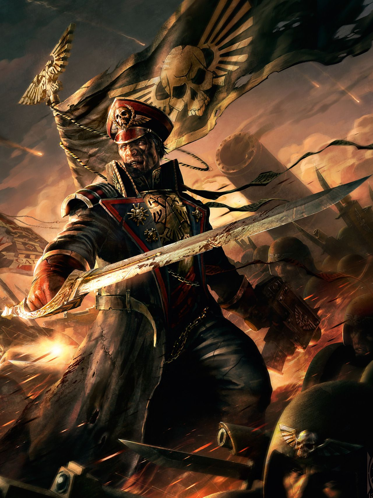 Imperial Guard - Warhammer 40k - Astra Militarum ...