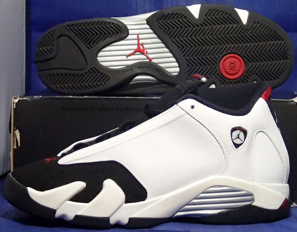 the latest 3e38d 1d3e6 Nike Air Jordan 14 XIV Retro BG (GS) Black Toe Youth SZ 6.5Y ( 654963-102 )   Nike  Basketball