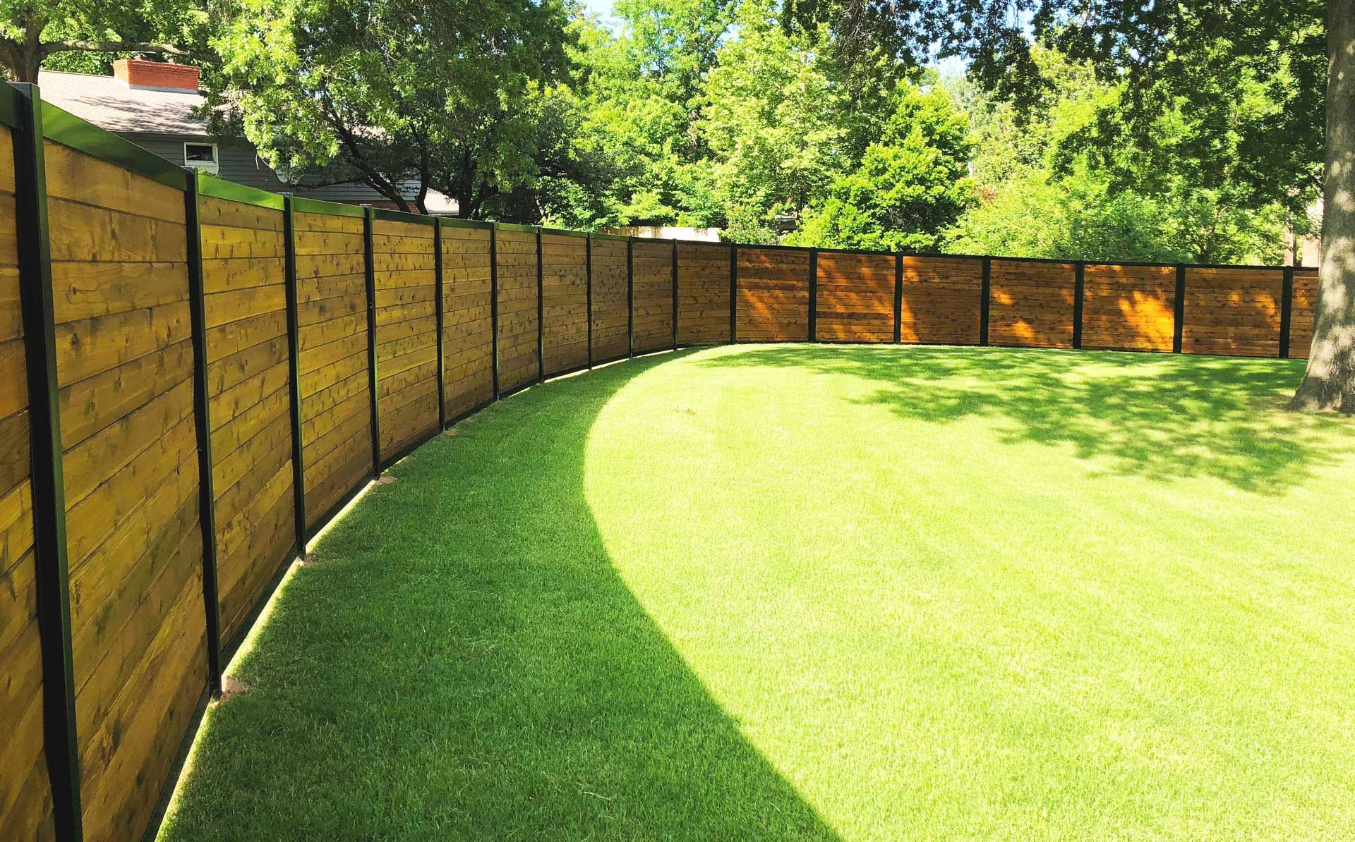 Your Fence Your Way Simple Elegant Fence System For Commercial
