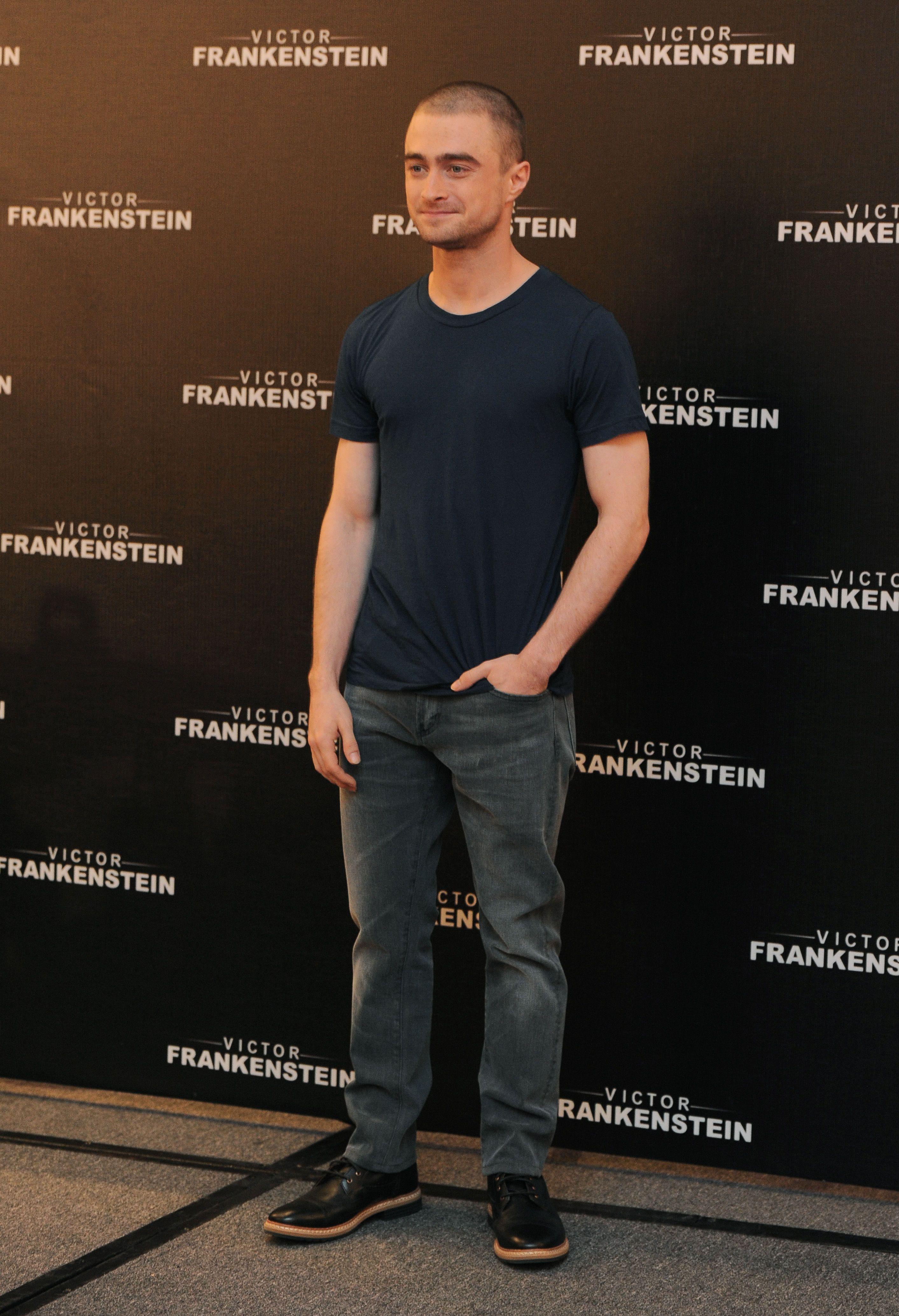 Daniel Radcliffe In The West Haven Side Zip Famed