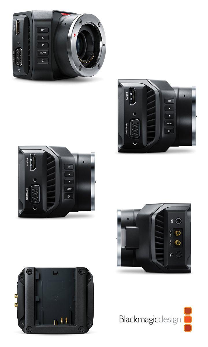 The Blackmagic Micro Studio Camera 4k Is An Incredibly Tiny Ultra Hd Studio Camera That S Perfectly Designed For Live Pro Cameras Camera Fotografica Acessorios