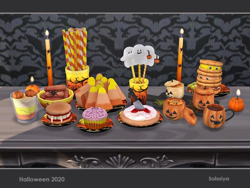 Halloween Sims 4 Cc 2020 soloriya's Halloween 2020 | sims 4 cc custom content #ts4cc