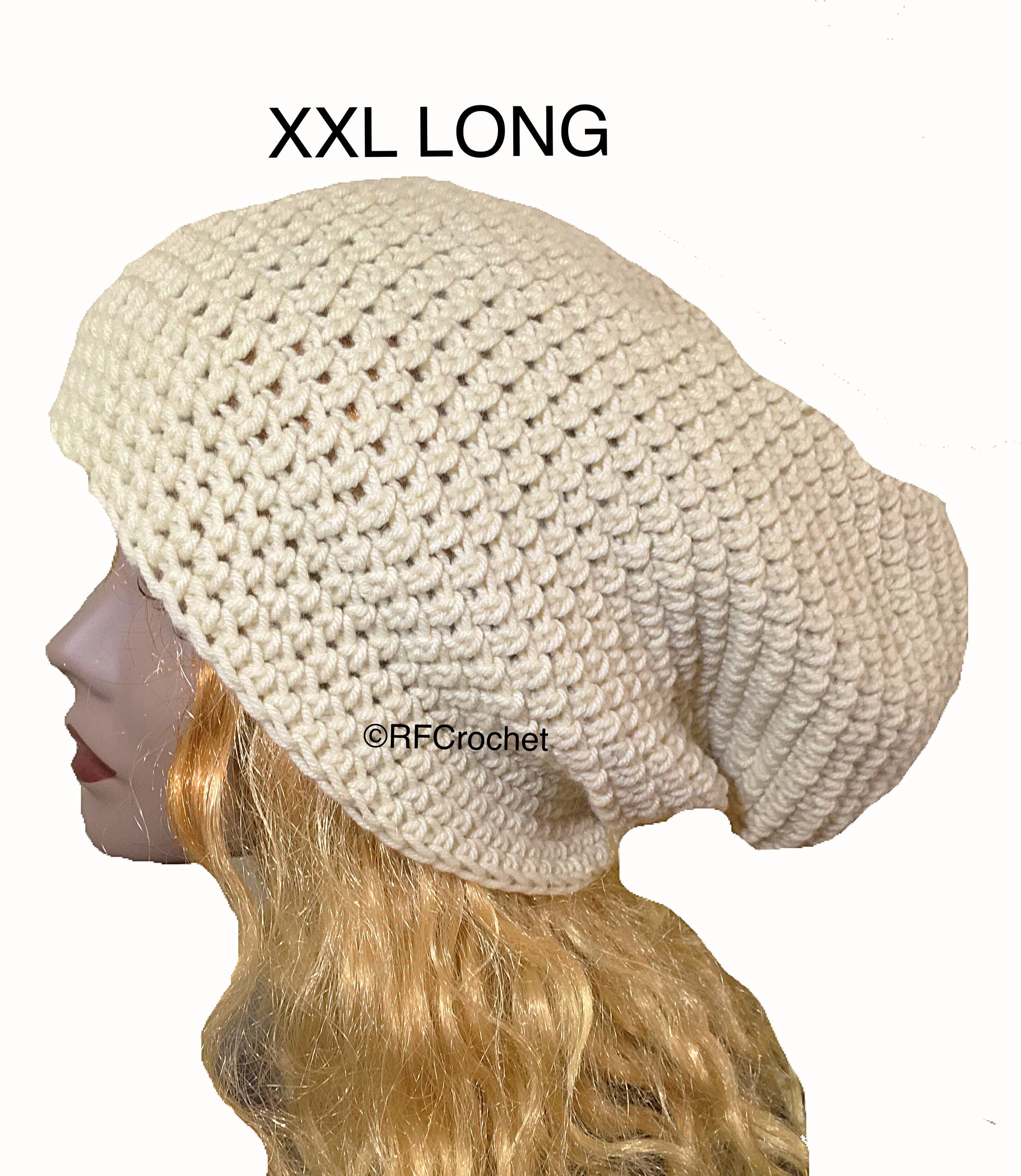 This off-white #XXL #beanie is ideal for hard-to-fit heads ...