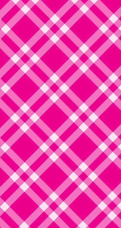 Pink plaid Foto's