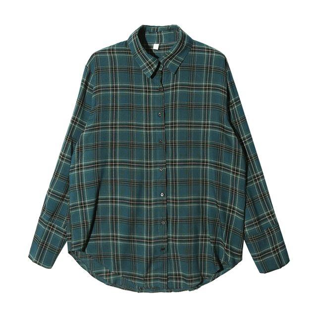 내 셔츠를 구하러 온 나의 구원자 은은하지만 따뜻한 색감의 체크셔츠