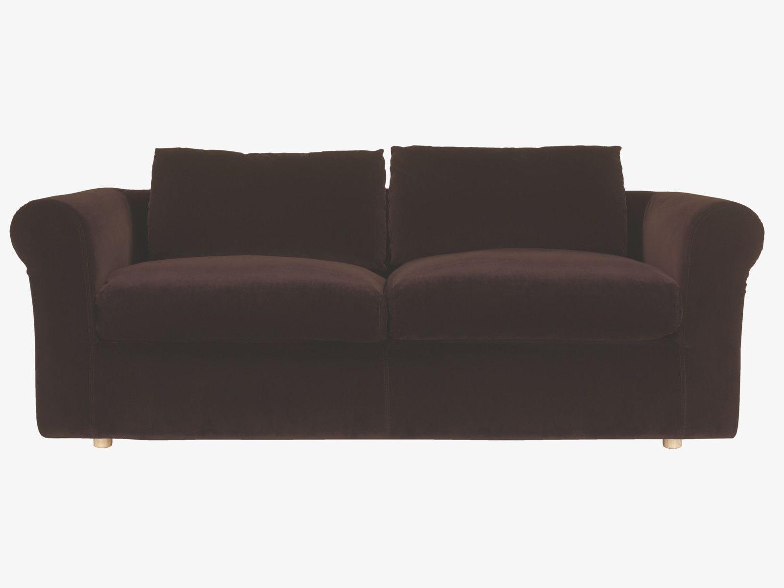 RUPERT Dark grey velvet 4 seater sofa