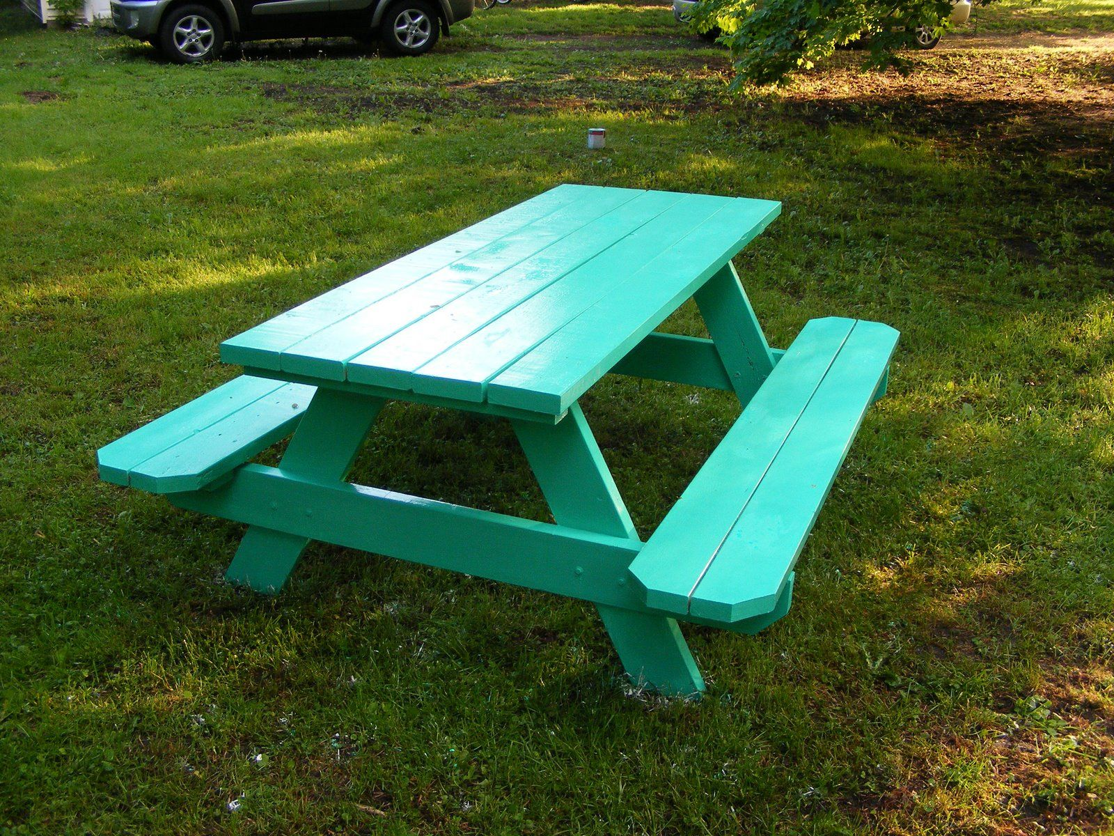 Paint Color Mermaids Song By Behr Picnic Table Redo Pinterest - Picnic table paint colors