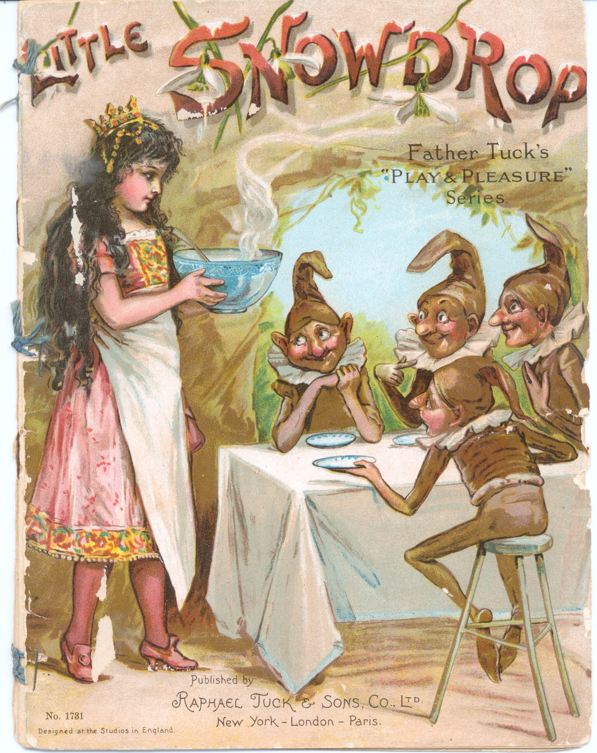 cinderella raphael tuck sons 1905